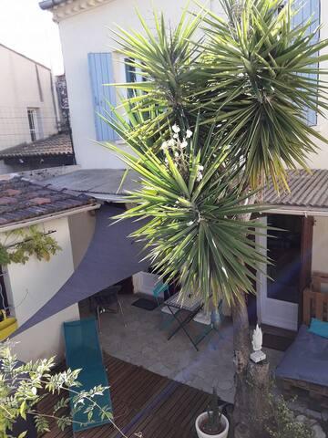 maison individuelle terrasse  centre Nîmes - Nîmes