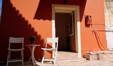 """Georgia's Small House"" Corfu, Kamara, Achillion"
