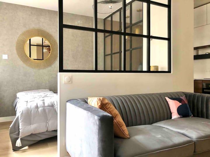 New 1-bedroom flat near La Défense & Paris - WiFi