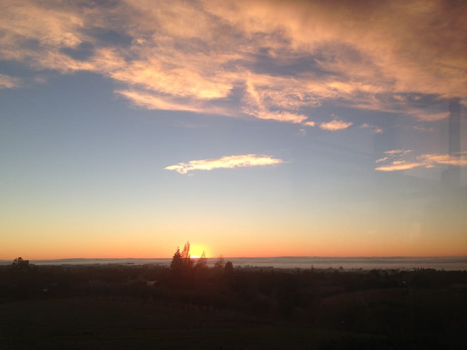 You will wake up to panoramic views to the coast, with fabulous East Coast sunrises