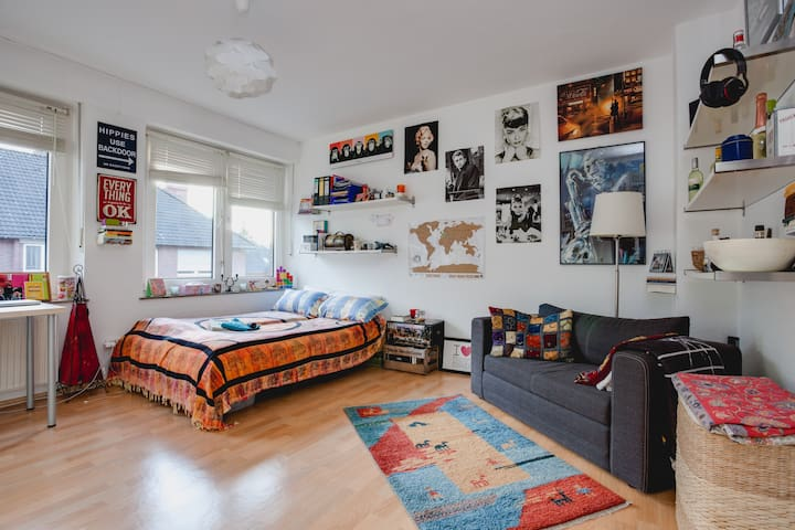 central cozy flat - Münster - Apartamento
