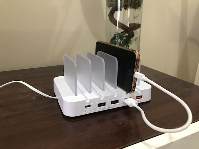Charging station (iPhone not included)