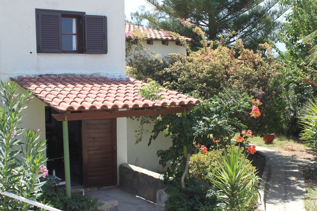 Charming maisonettes surrounded by flowers and fruit trees