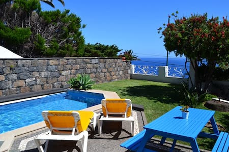 Pool Studio with Ocean View - Caniço