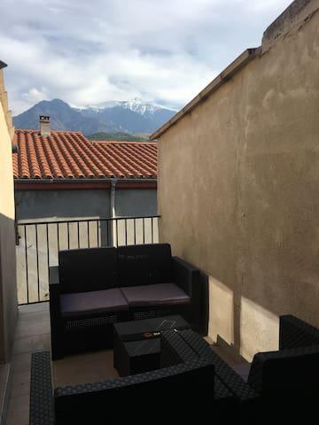 Appartement avec terrasse au coeur de Prades - Prades - Wohnung