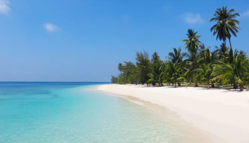 Bayu Lestari Island Resort (Chalet/2 - 3  Peoples)