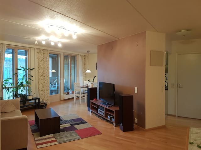 Nice apartment with sauna 15 min to city center