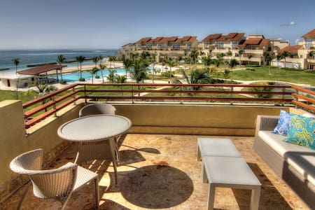 Beachfront Paradise Luxury Penthouse Punta Cana