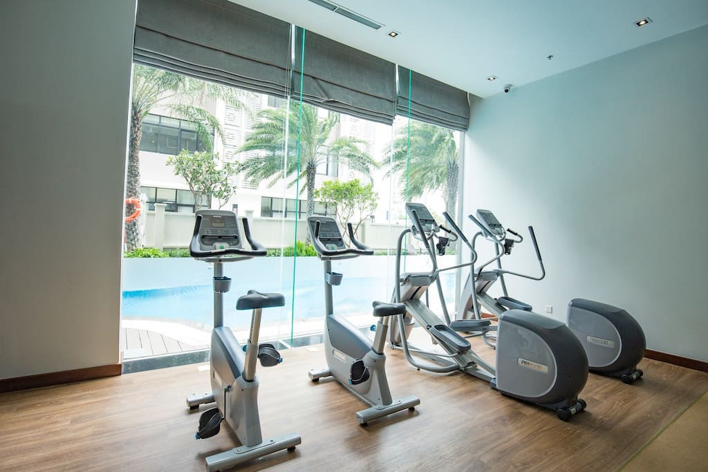 Free GYM 2nd floor of the building