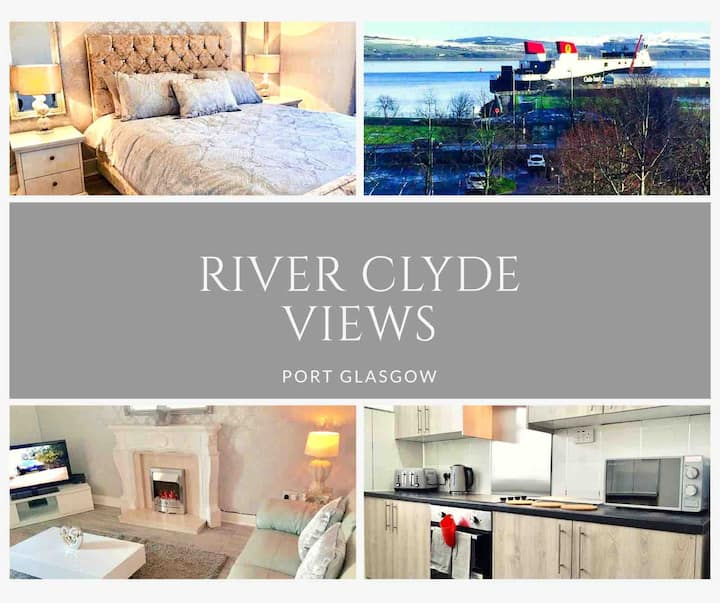RIVER CLYDE VIEWS-PRIVATE APT, SWIMMING POOL & GYM