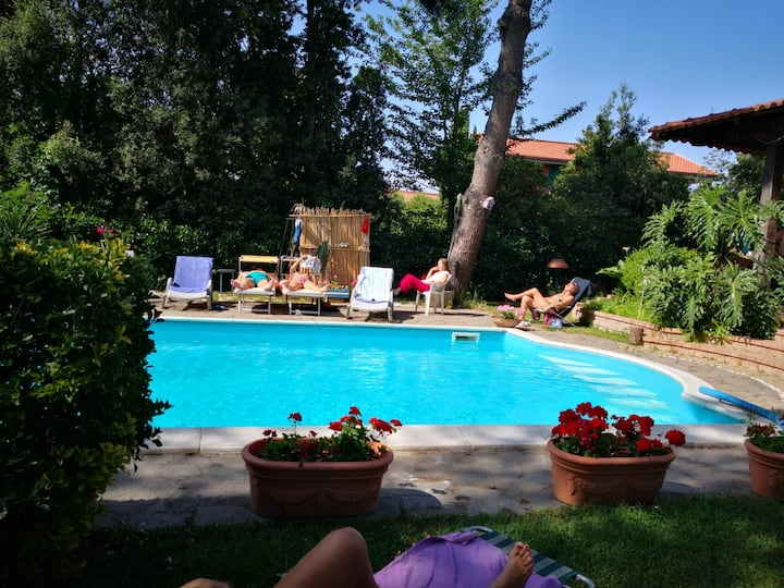 Villa Marylin, country relax  Napoli