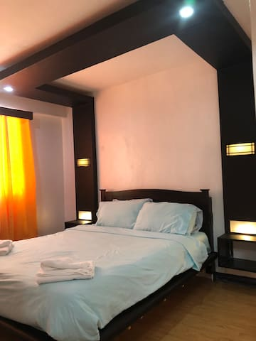 Casa De Molino Master's bedroom with ensuite