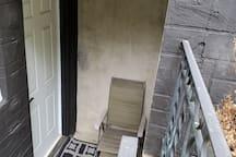 Entrance to Basement Suite