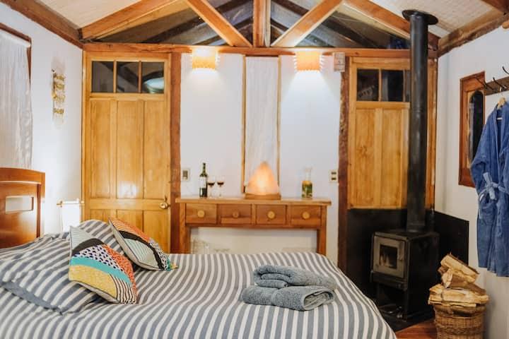Romántica y Acogedora Habitación en suite