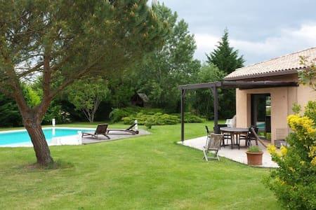 Suite parentale indépendante avec jacuzzi/piscine - Montastruc-la-Conseillère