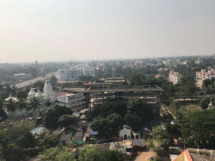 """Krishna Plaza-1 Next to ISKON & behind Bigbazar"""
