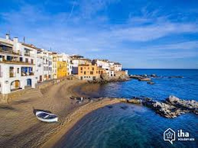 Apartamento en Calella Palafrugell vistas mar - Palafrugell - Apartament