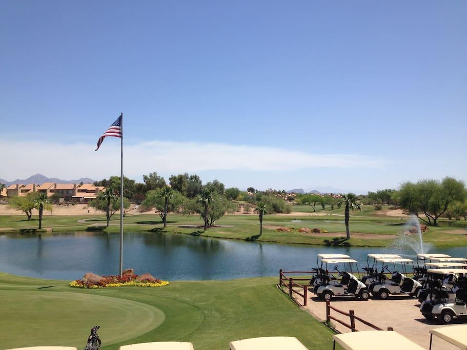 Steps away from Silverado Golf Course and Scottsdale Greenbelt walk/bike paths
