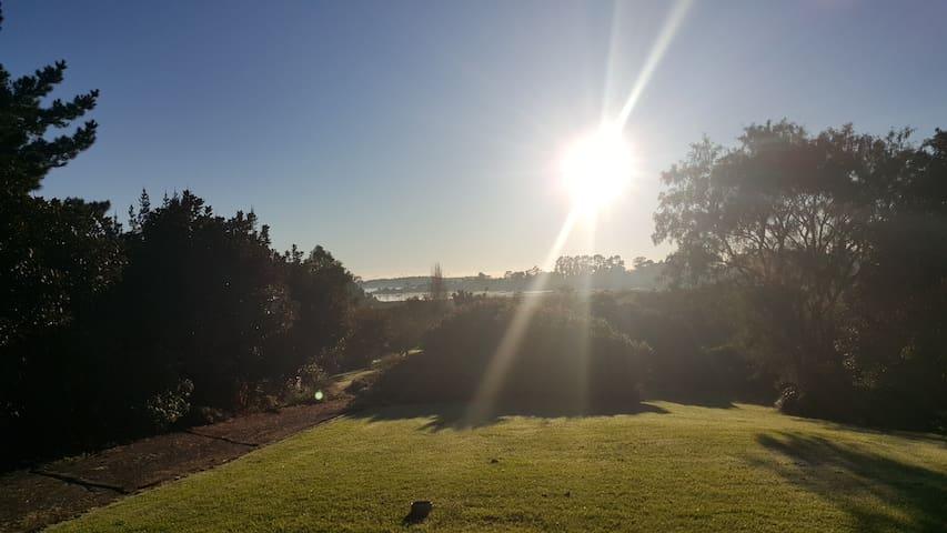 Magical views , semi-tropical organic microclimate
