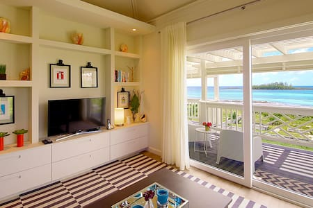 Stylish & Spacious 2BR Upstairs Bayfront Suite Apt