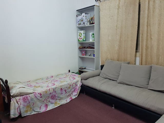Sharing room for sigle male adult