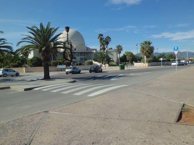 APARTAMENTO CASTELLÓN PUERTO AZAHAR 50 m playa. - El Grao de Castellón - Apartamento