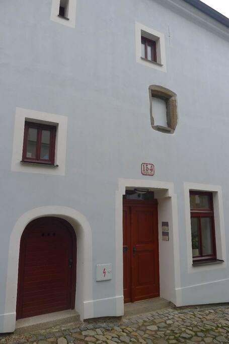 Středověký dům po rekonstrukci
