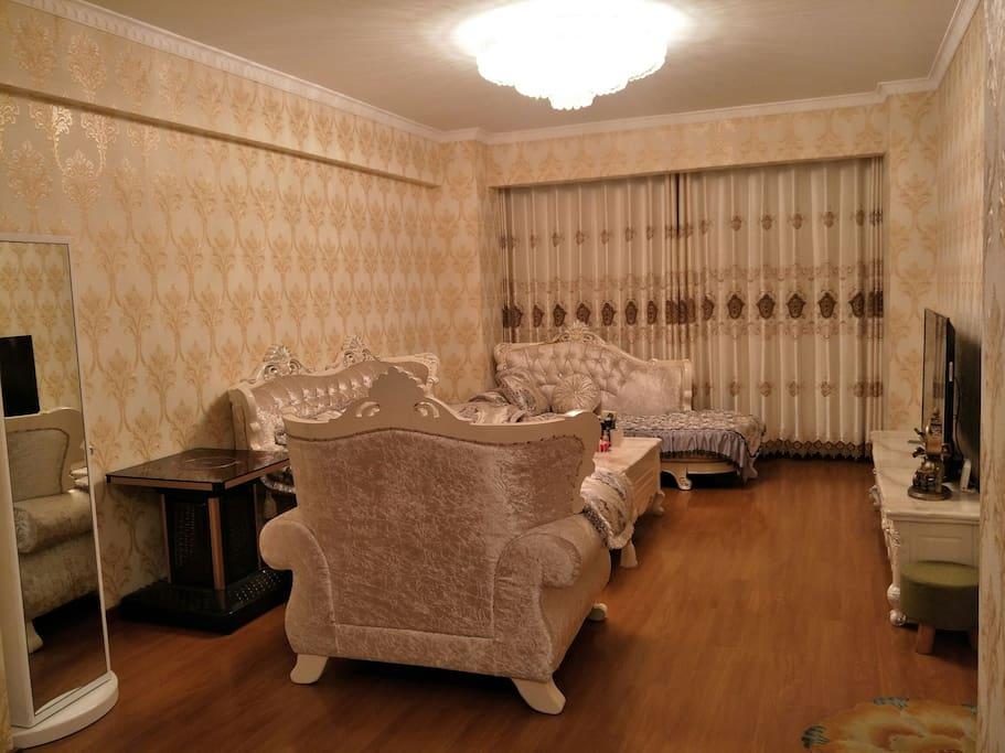 温馨的简欧客厅