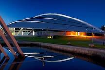 Vikingskipet (The Viking Ship) sports arena.