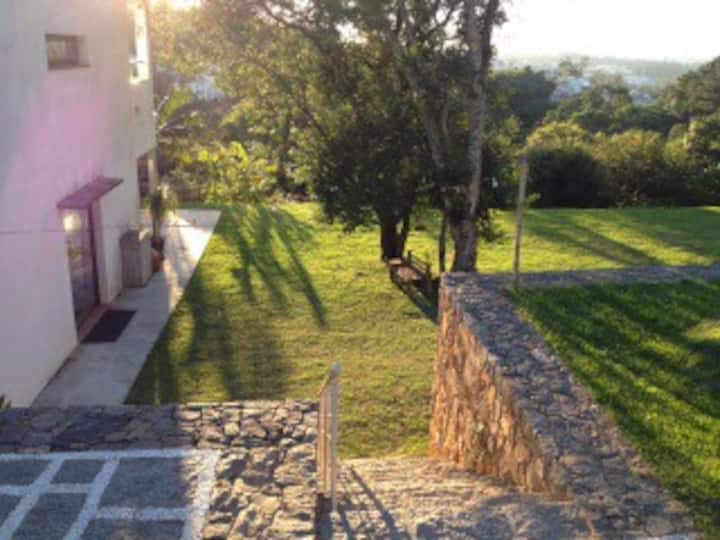 Country house style loft in Cotia