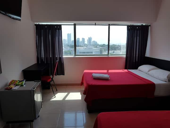 H6_Habitación Privada_Hotel Stil_Desyauno Incluido