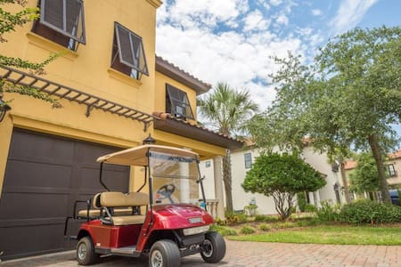 Tuscan Paradise - Luxury redefined - Private Home New on market - Sleeps 10 - Golf Cart. - ミラマービーチ