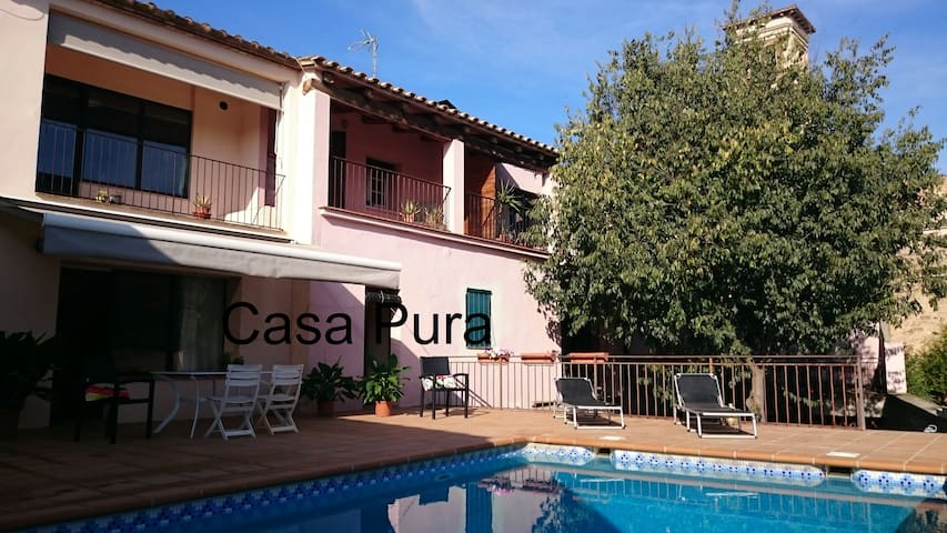 Casa Pura, Camallera with private pool - Vilopriu - House