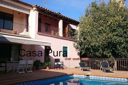 Casa Pura Costa Brava, amb piscina de sal privat - Vilopriu - House