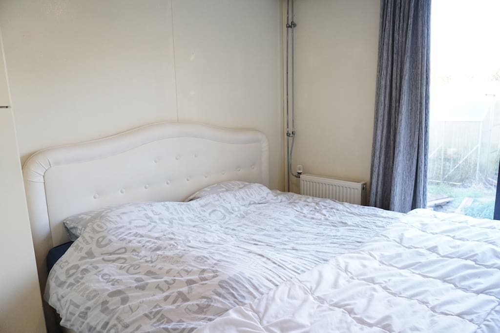 2-persoons slaapkamer.
