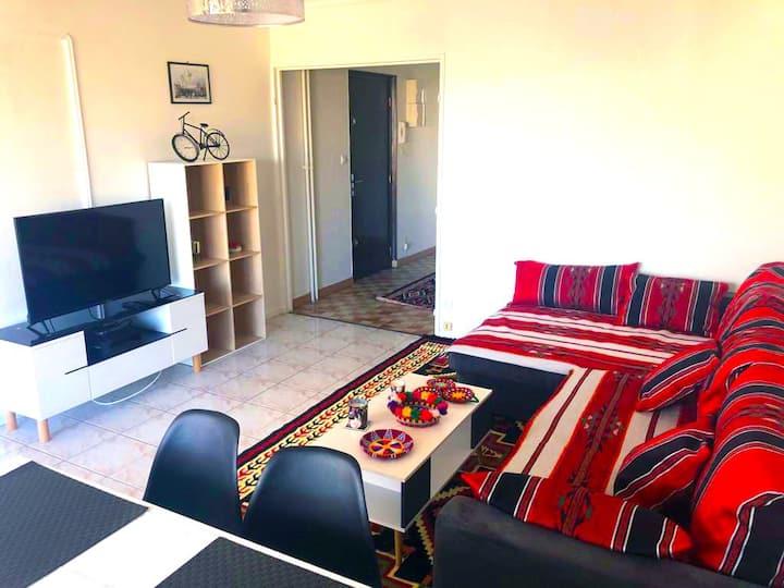 Bel et Spacieux Appartement de 85 m² avec Parking