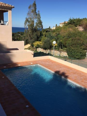 T3 de standing avec piscine vue mer - Saint-Florent - Condominium