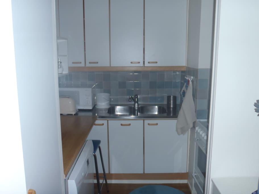 Кухня-ниша