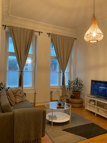Beautiful one bedroom apartment in an old building