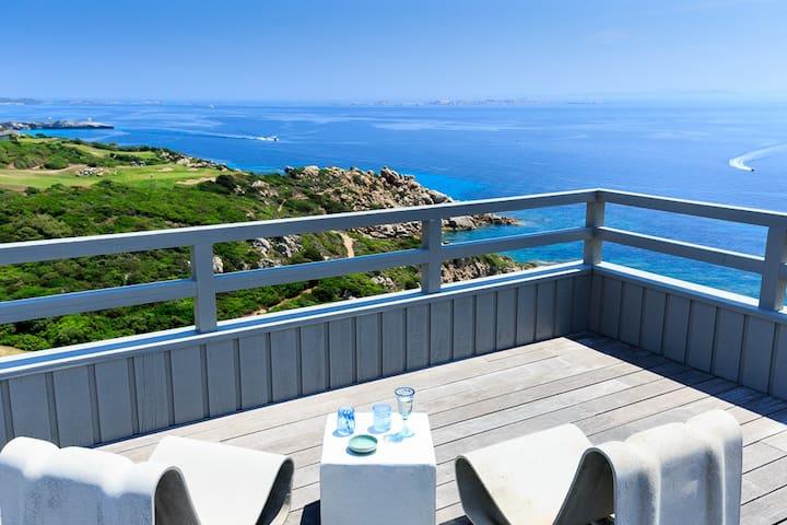 250 steps above the beach Villa - Bonifacio - Dom