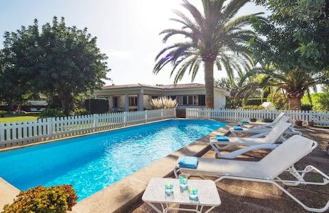 Villa: ideal families with children