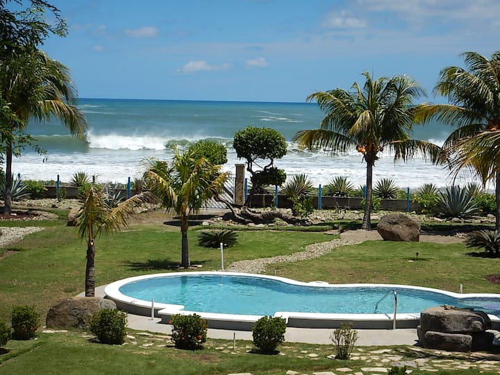 Beachfront Villa Tamarindo Playa Marsella