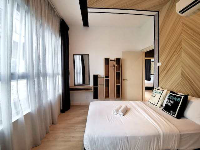 Modern Private Room w/ WIFI near KLCC #NATP206a1