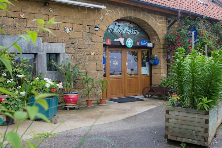 chambre dans village viticole