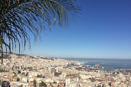 F3-vue sur la baie d'Alger/ 2 Bedroom appartment - Argel - Apartamento