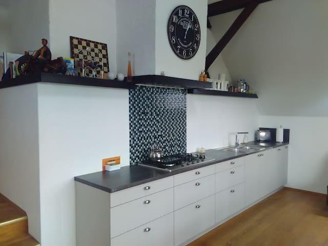 Urige Wohnung im Bauernhaus am Rhein - Voerde (Niederrhein)