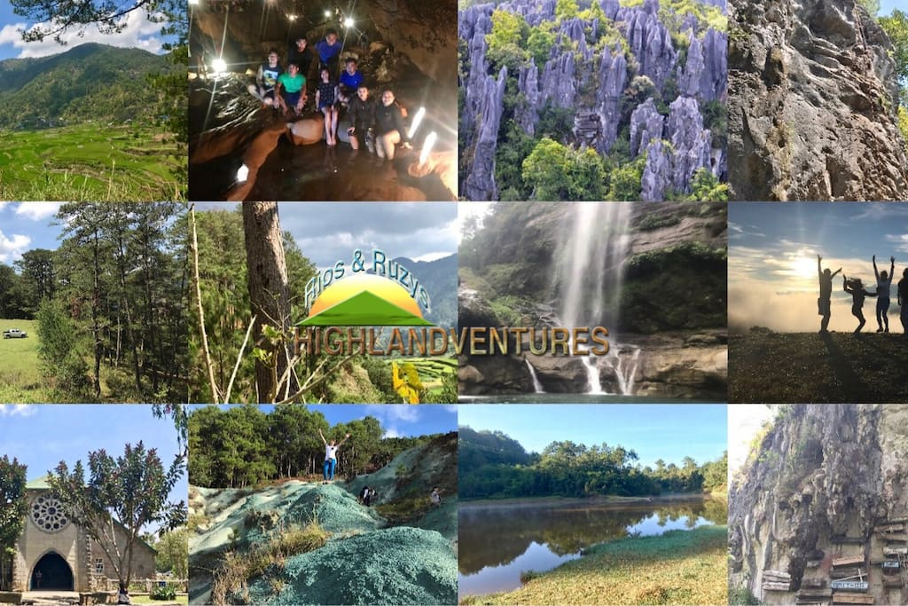 We also offer affordable service tour packages in Sagada and Baguio for groups. PM us for inquiry :)