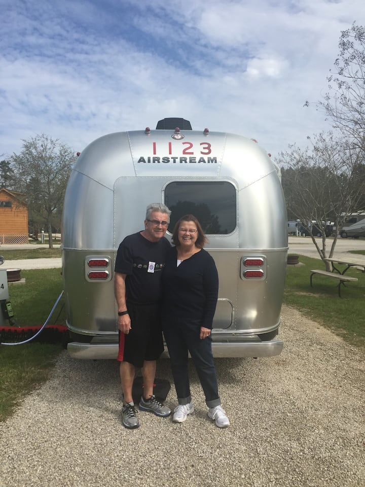 New 23' AIRSTREAM about 10 miles from NRG Stadium