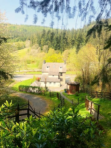 Dolgethin Guest house, Betws-y-coed, Snowdonia 4