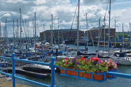 Apartment overlooking  Milford Haven Marina